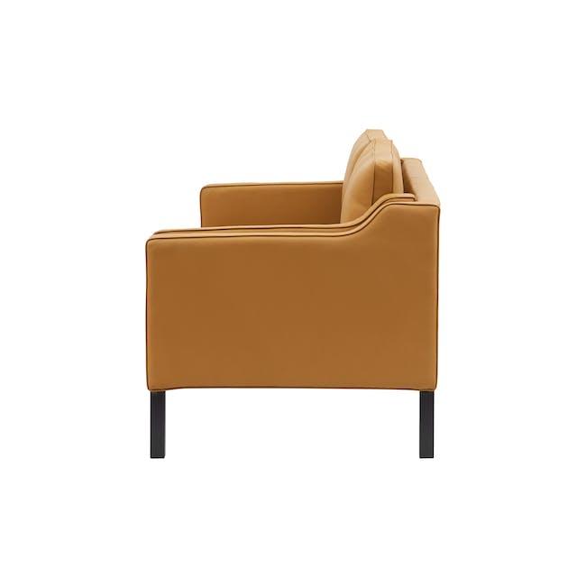 Borge Mogensen 2213 2 Seater Sofa Replica - Tan (Genuine Cowhide) - 2
