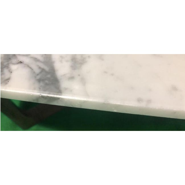 (As-is) Carson Marble Coffee Table - 1 - 6