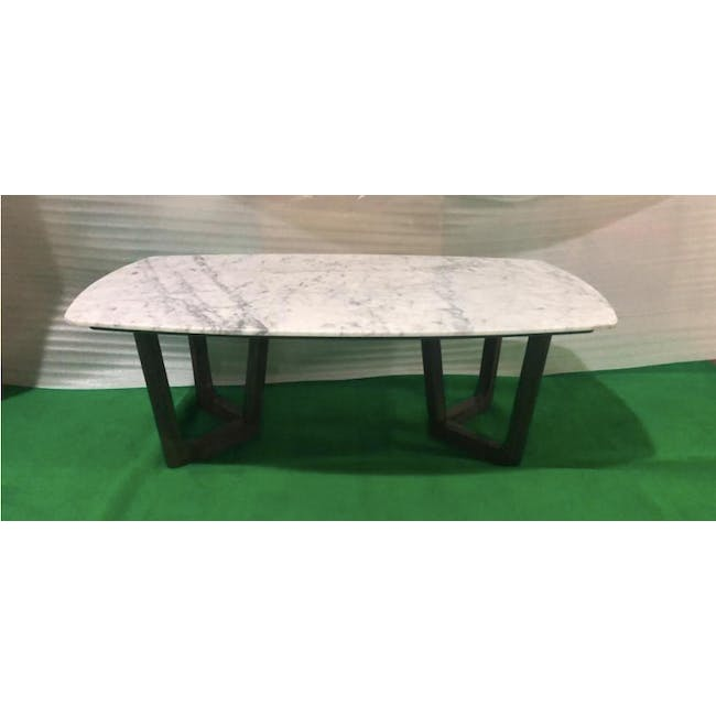 (As-is) Carson Marble Coffee Table - 1 - 2