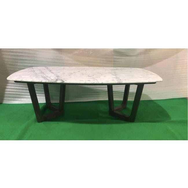 (As-is) Carson Marble Coffee Table - 1 - 1