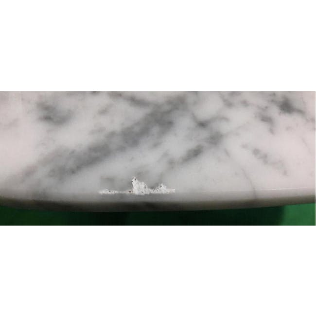 (As-is) Carson Marble Coffee Table - 1 - 4
