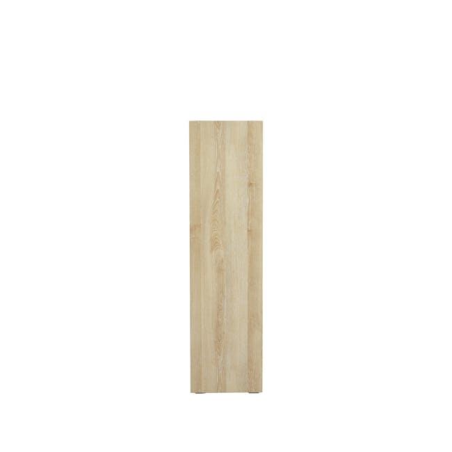 Hitoshi 3-Tier Bookshelf - Natural, White - 4