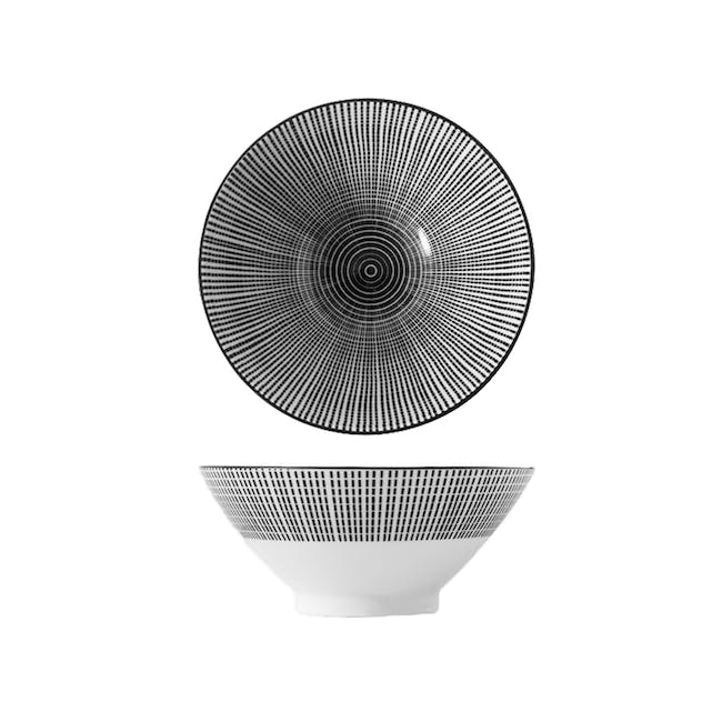 Table Matters Scattered Lines Ramen Bowl (2 Sizes) - 0