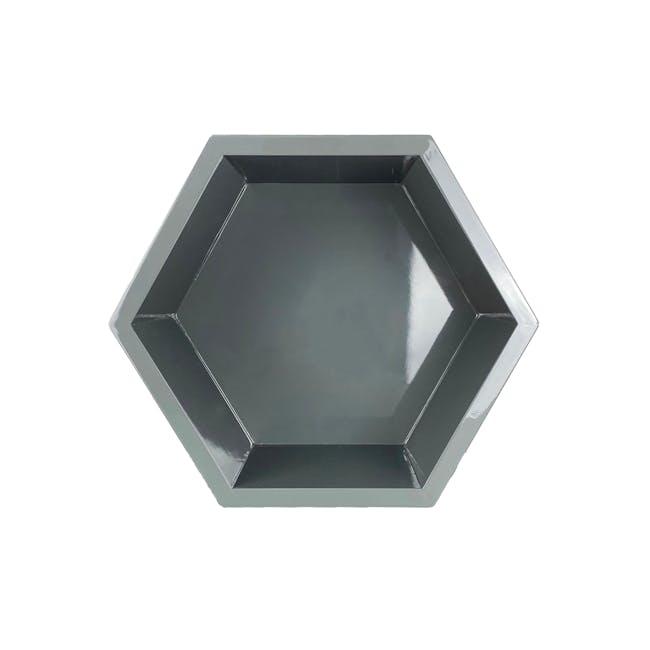 Acacia Block - Dark Grey - 0