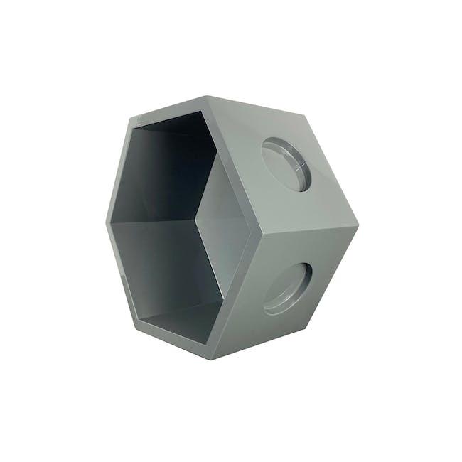 Acacia Block - Dark Grey - 4