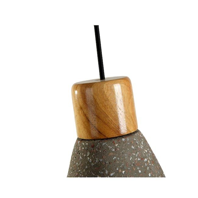 Charlie Concrete Pendant Lamp - Sprinkled - 3