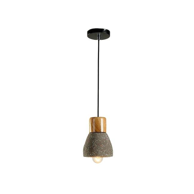 Charlie Concrete Pendant Lamp - Sprinkled - 1
