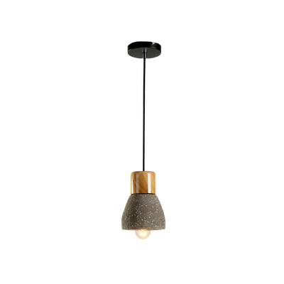 Charlie Concrete Pendant Lamp - Sprinkled - Image 2