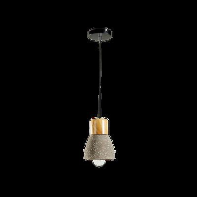 Charlie Concrete Pendant Lamp - Sprinkled - Image 1