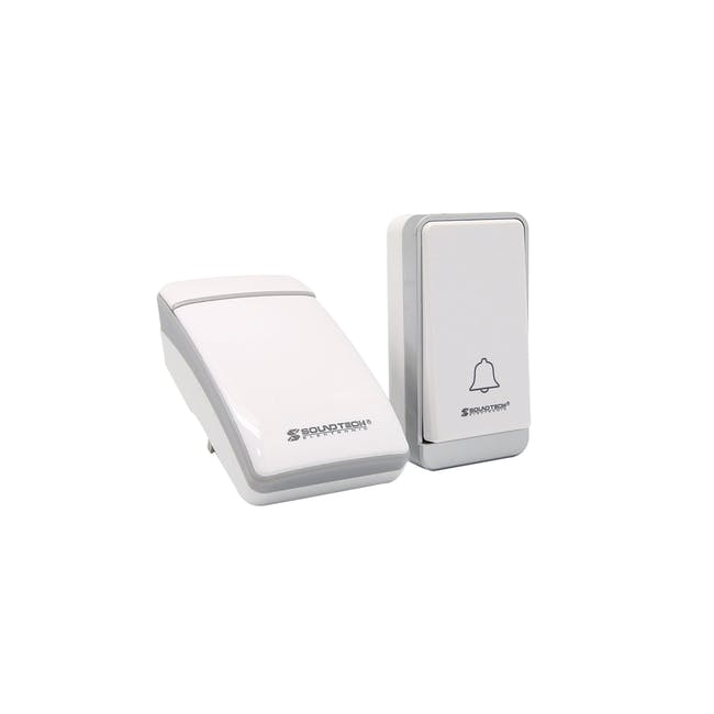 SOUNDTEOH Kinetic Wireless Digital Doorbell DA-028 - 0
