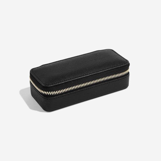 Stackers Medium Travel Jewellery Box - Black - 2