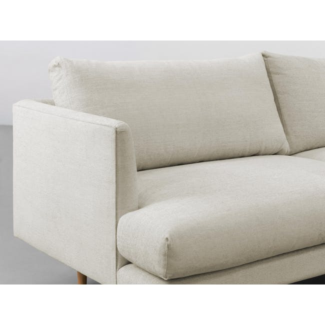 Duster 3 Seater Sofa - Almond (Fabric) - 4