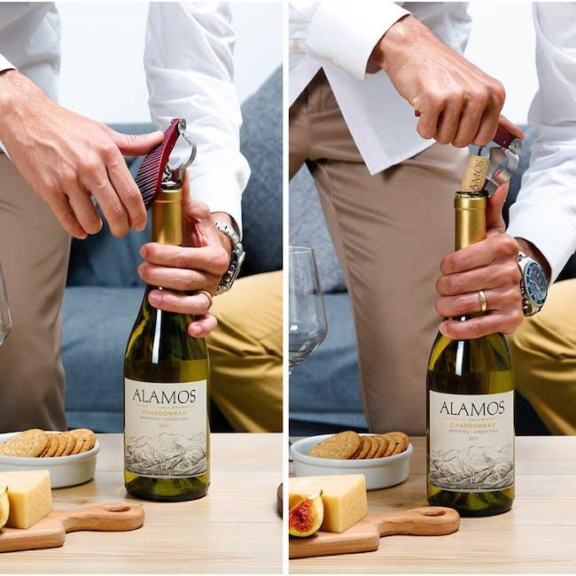 PELEG DESIGN BottleTie Corkscrew - Wine Glasses - 2