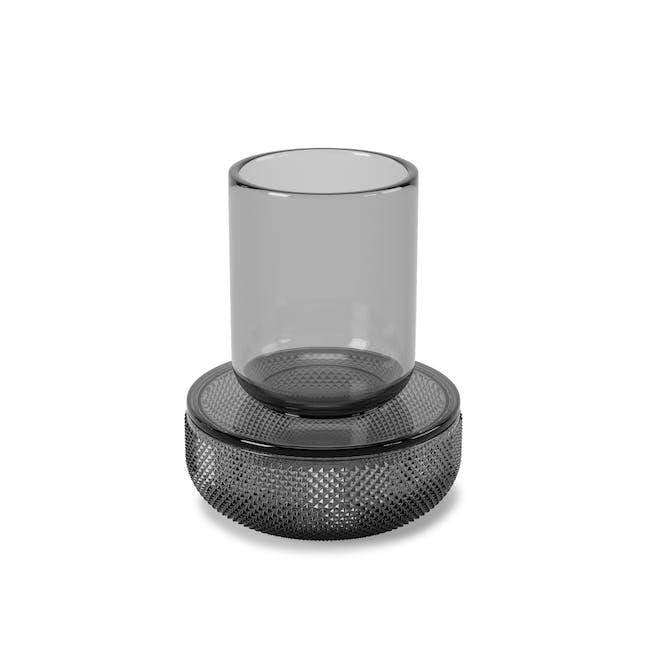 Allira Glass Organiser - Smoke - 2