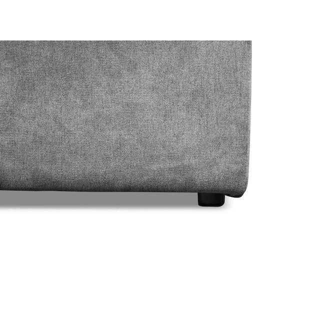 Ashley L-Shaped Lounge Sofa - Stone - 12