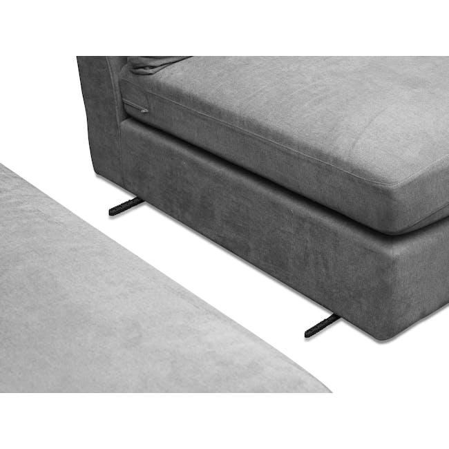 Ashley L-Shaped Lounge Sofa - Stone - 11
