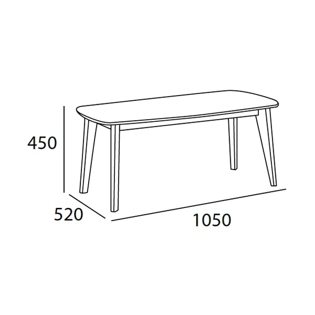 Aalto TV Cabinet 1.6m with Kyra High Coffee Table - Cocoa - 10