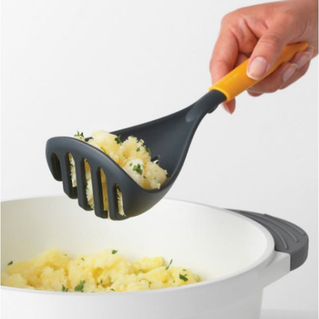 Tasty+ Potato Masher - Honey Yellow - 2