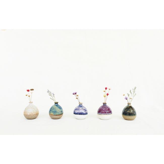Mini Vase 5 cm - Pastel Yellow - 4