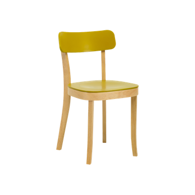 Stockholm Chair - Natural, Olive Yellow - Image 1