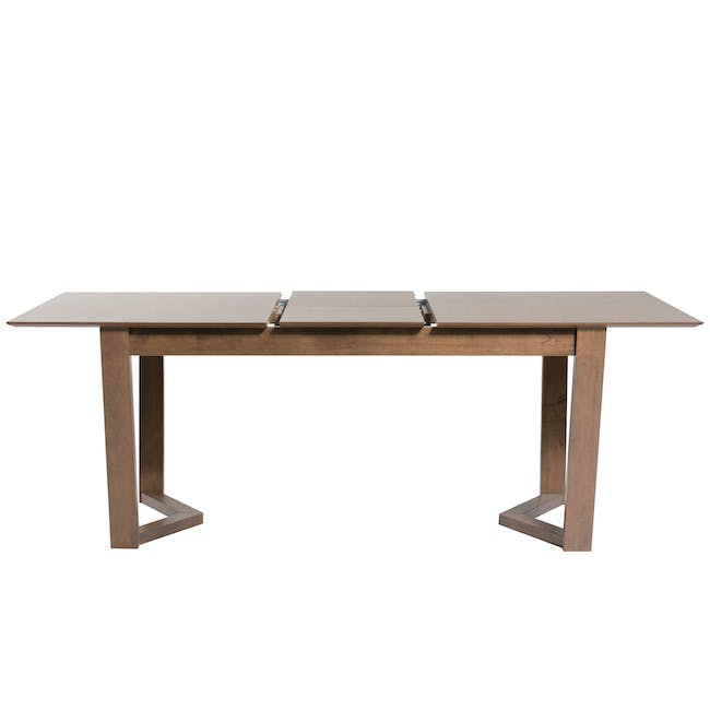 Meera Extendable Dining Table 1.6m - Cocoa - 13