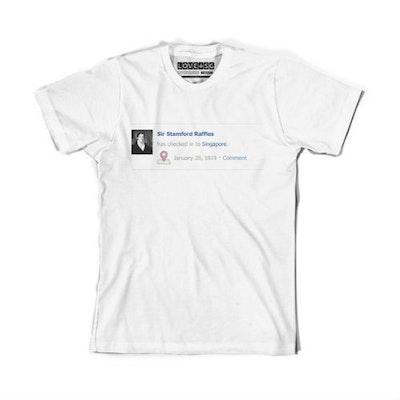 Raffles Check In (Men) T-Shirt - XL - Image 1