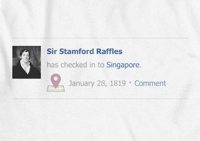 Raffles Check In (Men) T-Shirt - XL - Image 2