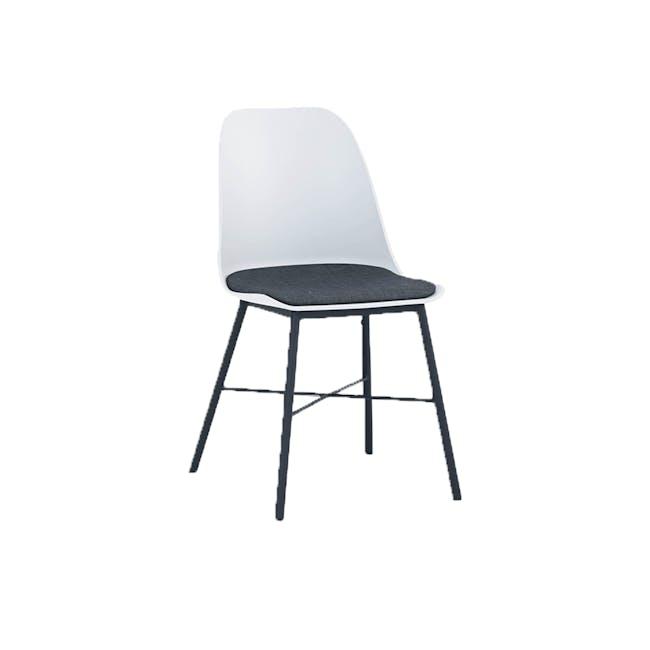 Denver Dining Chair - White - 0