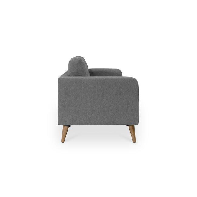 Bennett 3 Seater Sofa with Bennett 2 Seater Sofa - Gray Owl - 4