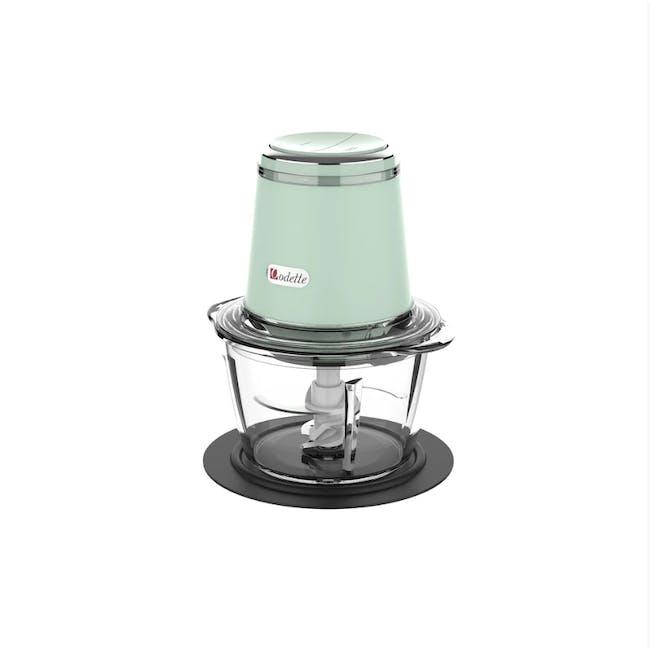 Odette Riviera 500W Food Chopper - Light Green - 1