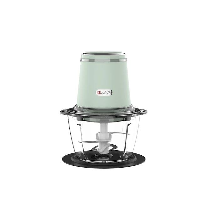 Odette Riviera 500W Food Chopper - Light Green - 0