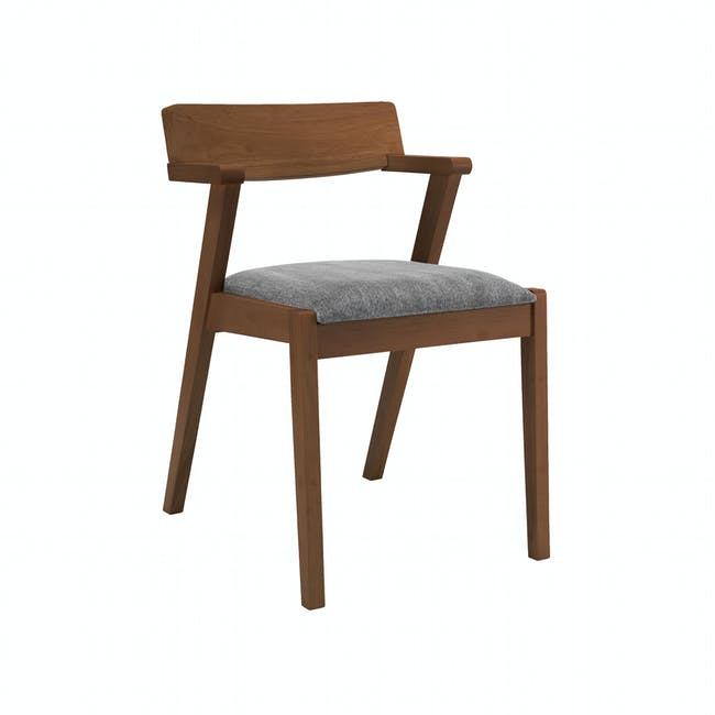 Imogen Dining Chair - Cocoa, Dolphin Grey - 9