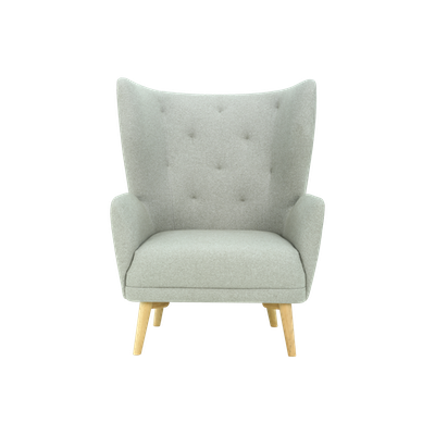 Kiwami Lounge Chair - Dolphin - Image 1