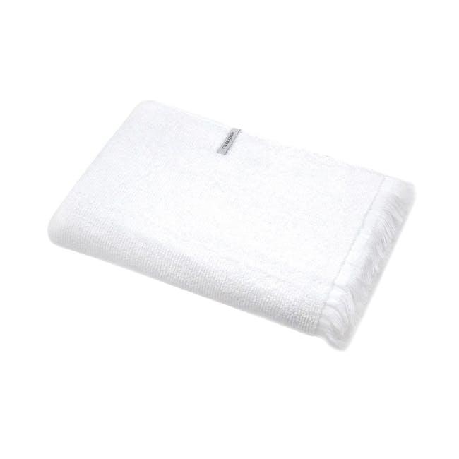 Canningvale Riviera Bath Towel - Carrara White - 0