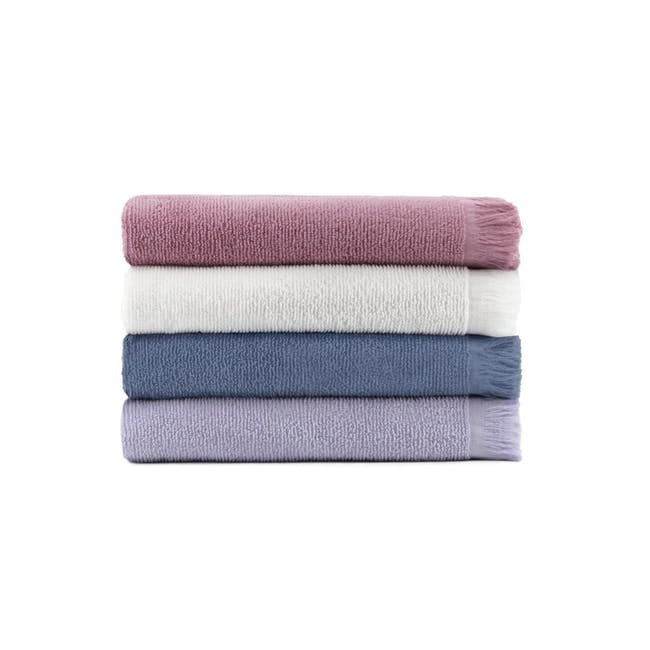 Canningvale Riviera Bath Towel - Carrara White - 1