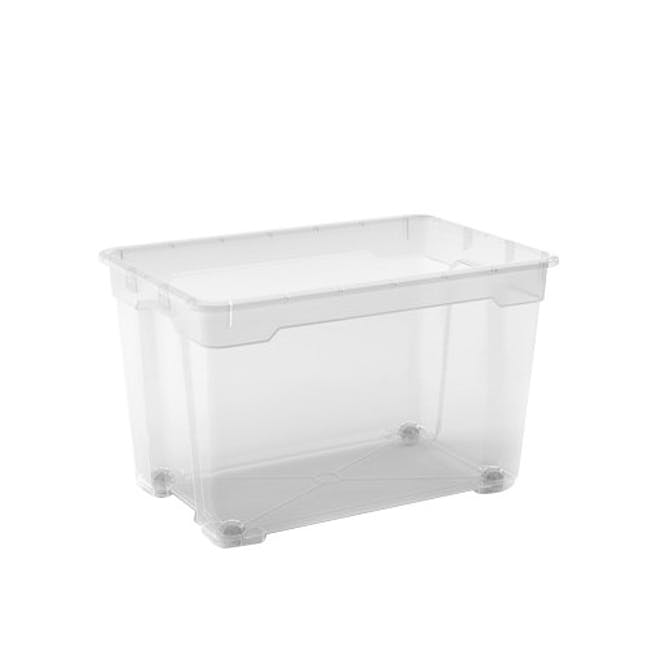 R-Box XL with Wheels - 60L with Lid - 0