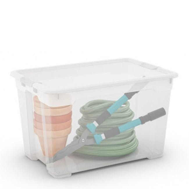R-Box XL with Wheels - 60L with Lid - 1