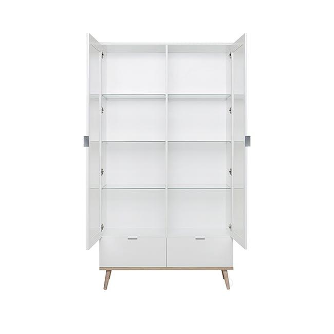 Brooklyn Glass Display Cabinet 1m - 4