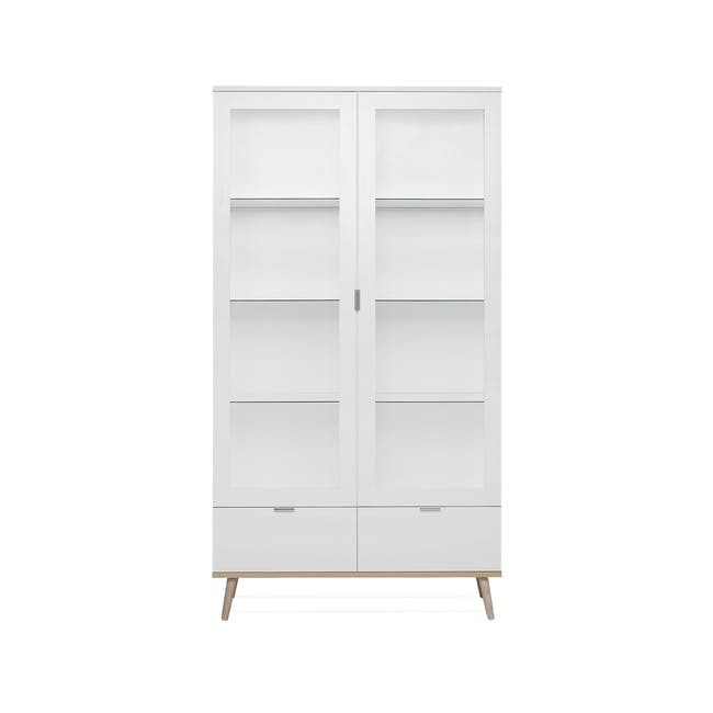 Brooklyn Glass Display Cabinet 1m - 0
