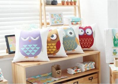 Snarky Owl Cushion