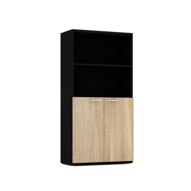 Archie Tall Cabinet - Black - 0