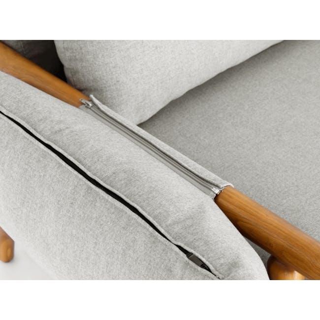 Astrid 2 Seater Sofa - Ivory - 7