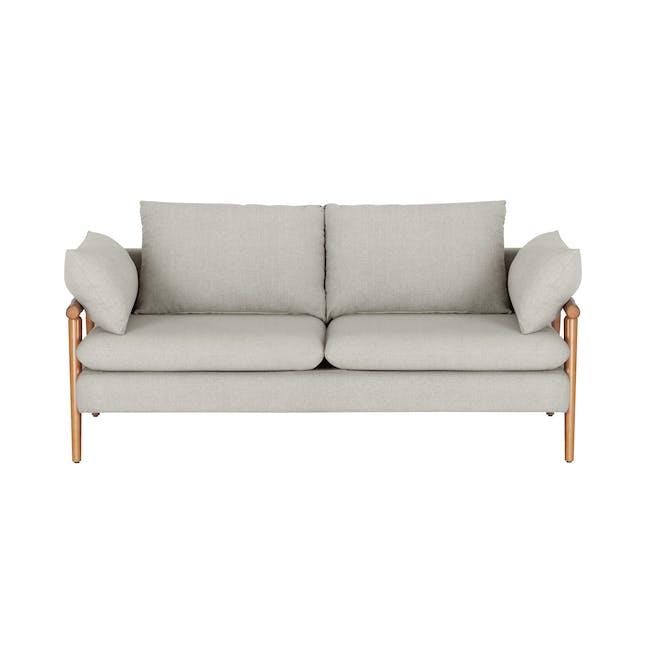 Astrid 2 Seater Sofa - Ivory - 0
