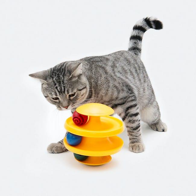 Pidan Cat Tumbler Toy with Balls - 1