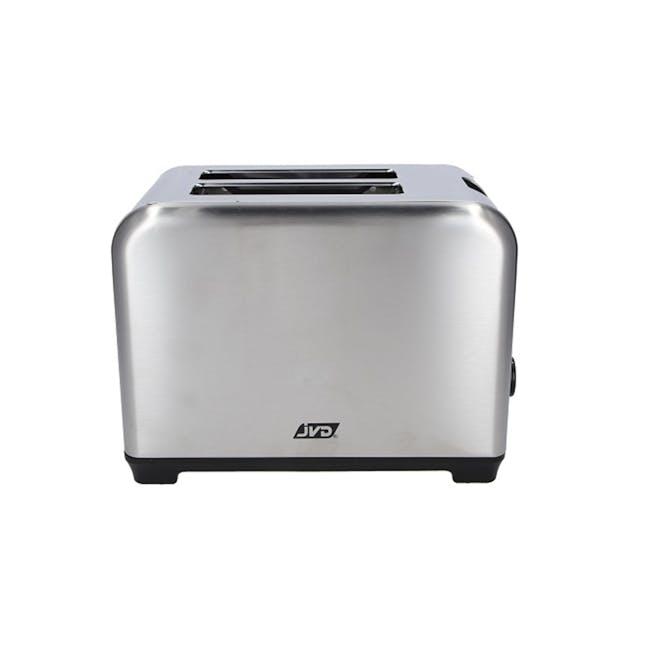 JVD Sahara Toaster - Stainless Steel - 1