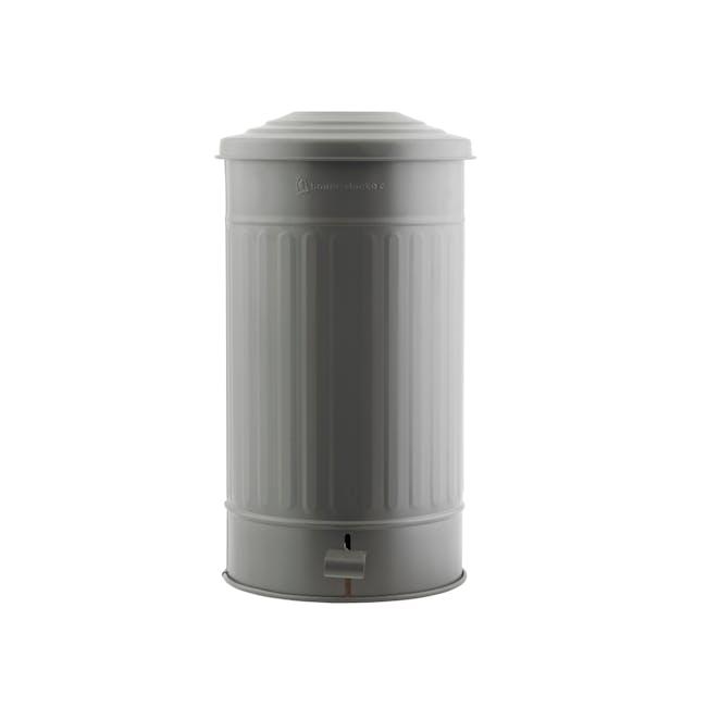 Matt Garbage Bin 24L - Matte Army Green - 0