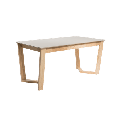 Meera Extendable Dining Table 1.6m with 4 Imogen Dining Chairs - Natural - Image 2