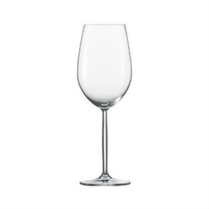 6 pcs Diva Bordeaux Glasses