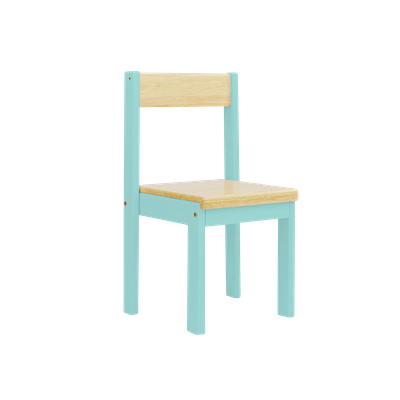 Layla Chair - Teal Blue - Image 1