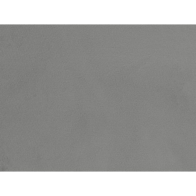 Mason 4 Drawer Queen Bed - Moonstone (Velvet) - 9